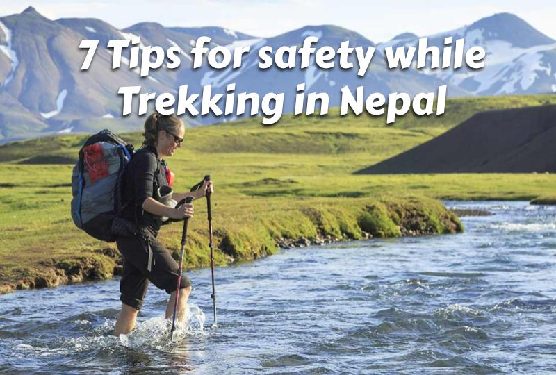 Tips for safety while Trekking