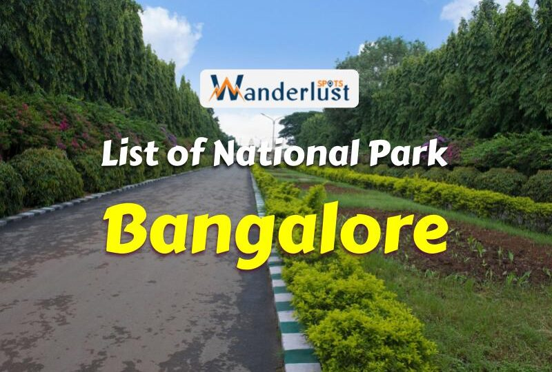 National Park in Bangalore