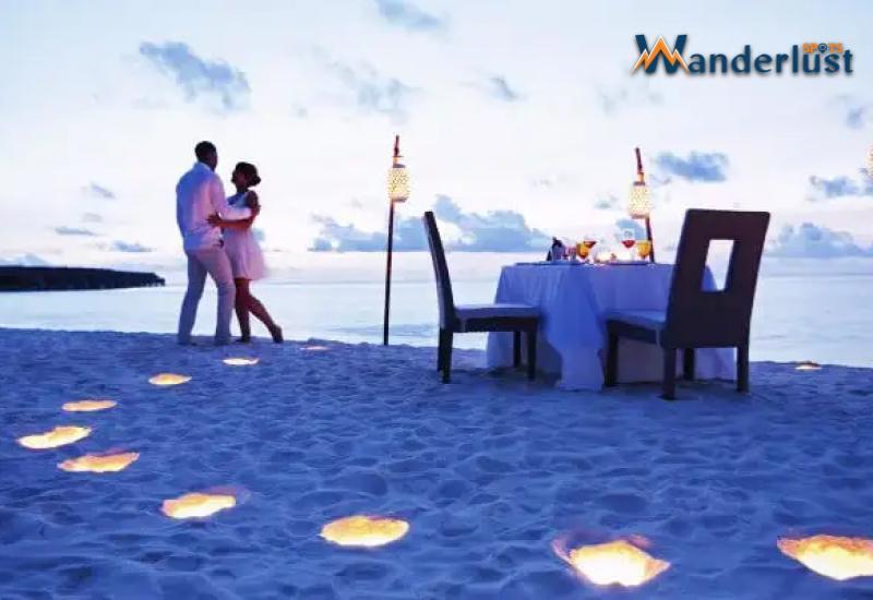 romantic destinations Male Island